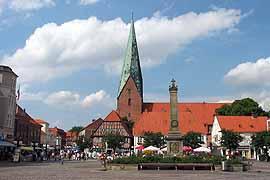 Eutin Marktplatz