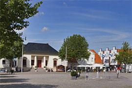 Marktplatz in Neustadt in Holstein