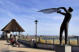 Fischerstatue Haffkrug