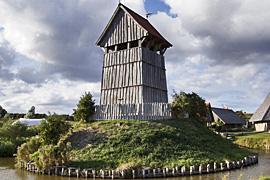 Turmhügelburg in Lütjenburg
