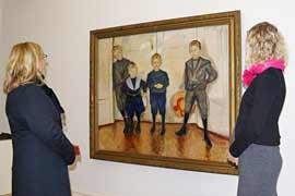 Die Söhne des Dr. Linde - Museum Behnhaus Drägerhaus