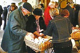 Ostermarkt in Trittau © Elke Baum, Kunsthandwerkeragentur