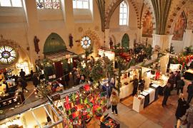 Kunsthandwerkermarkt im Heiligen-Geist-Hospital in Lübeck